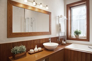 Modern Residential Home Bathroom