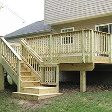 Service - Wood Deck