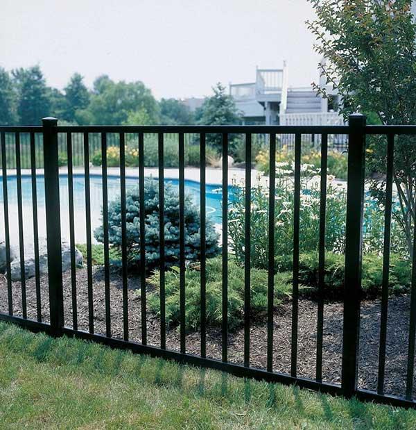 4' Aluminum Fence