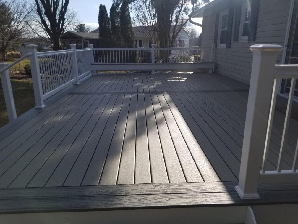 Beautiful Decks in Urbana, Maryland