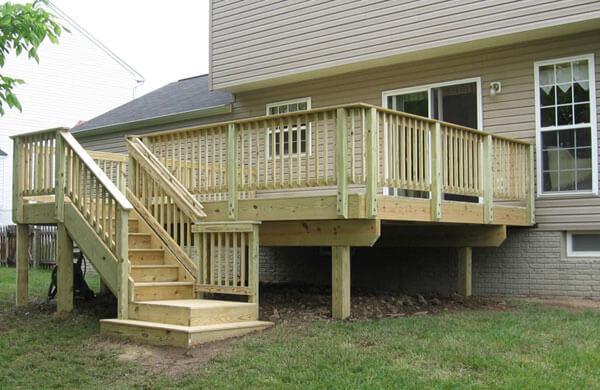 Wood Deck 4