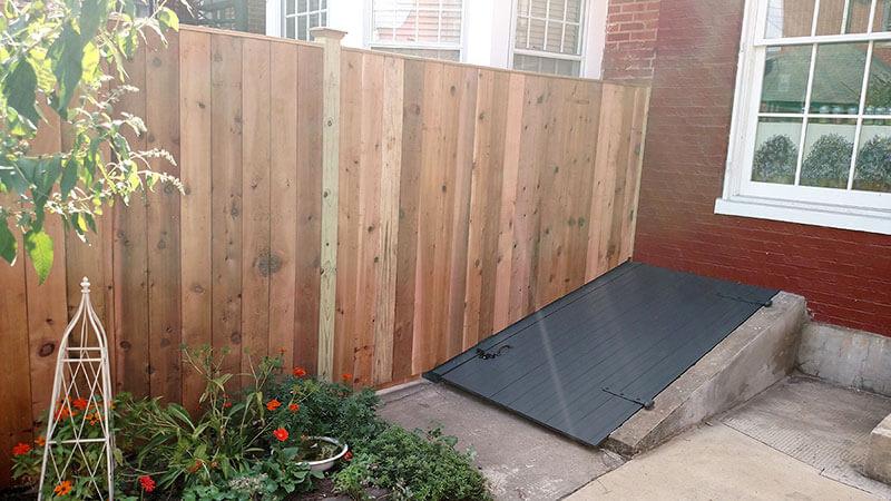 6' Cedar Privacy (aka Fredericktowne Fence)