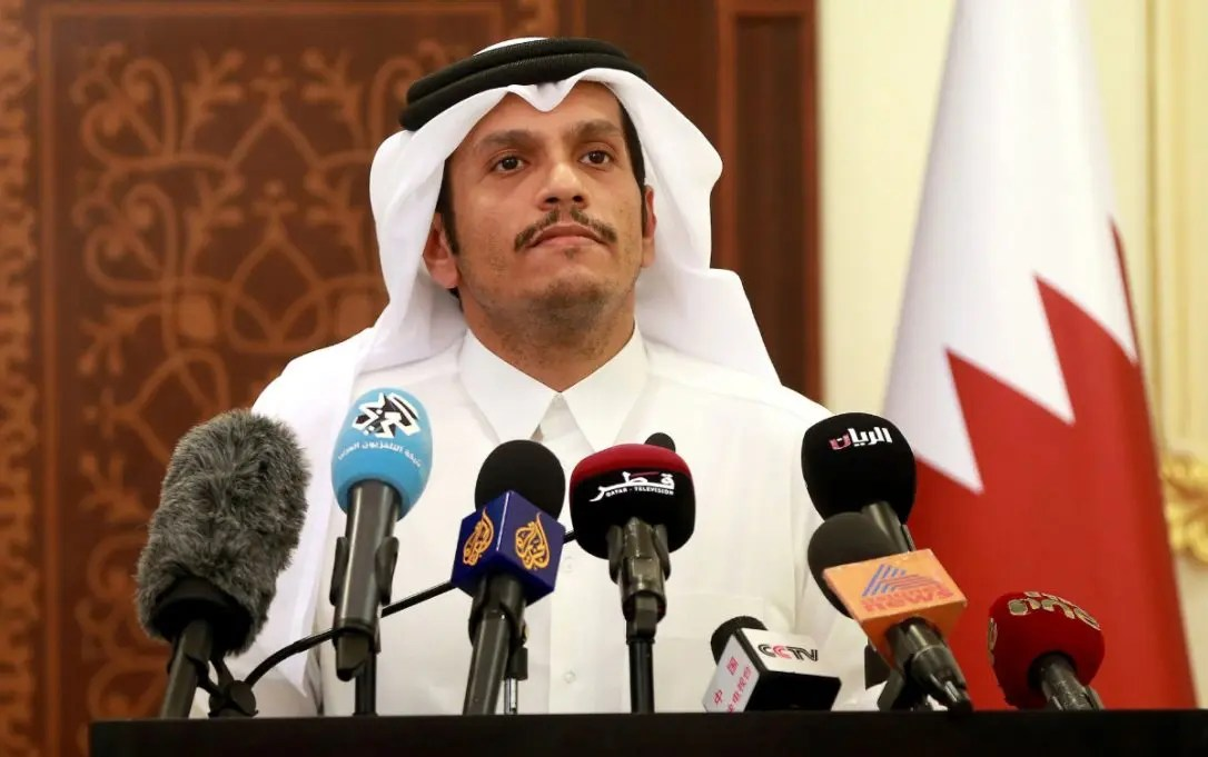 Image result for news for Qatari Foreign Minister Sheikh Mohammed bin Abdulrahman al-Thani, photos