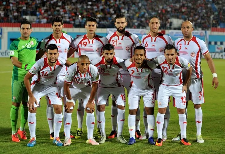 Image result for Tunisia football team 2017