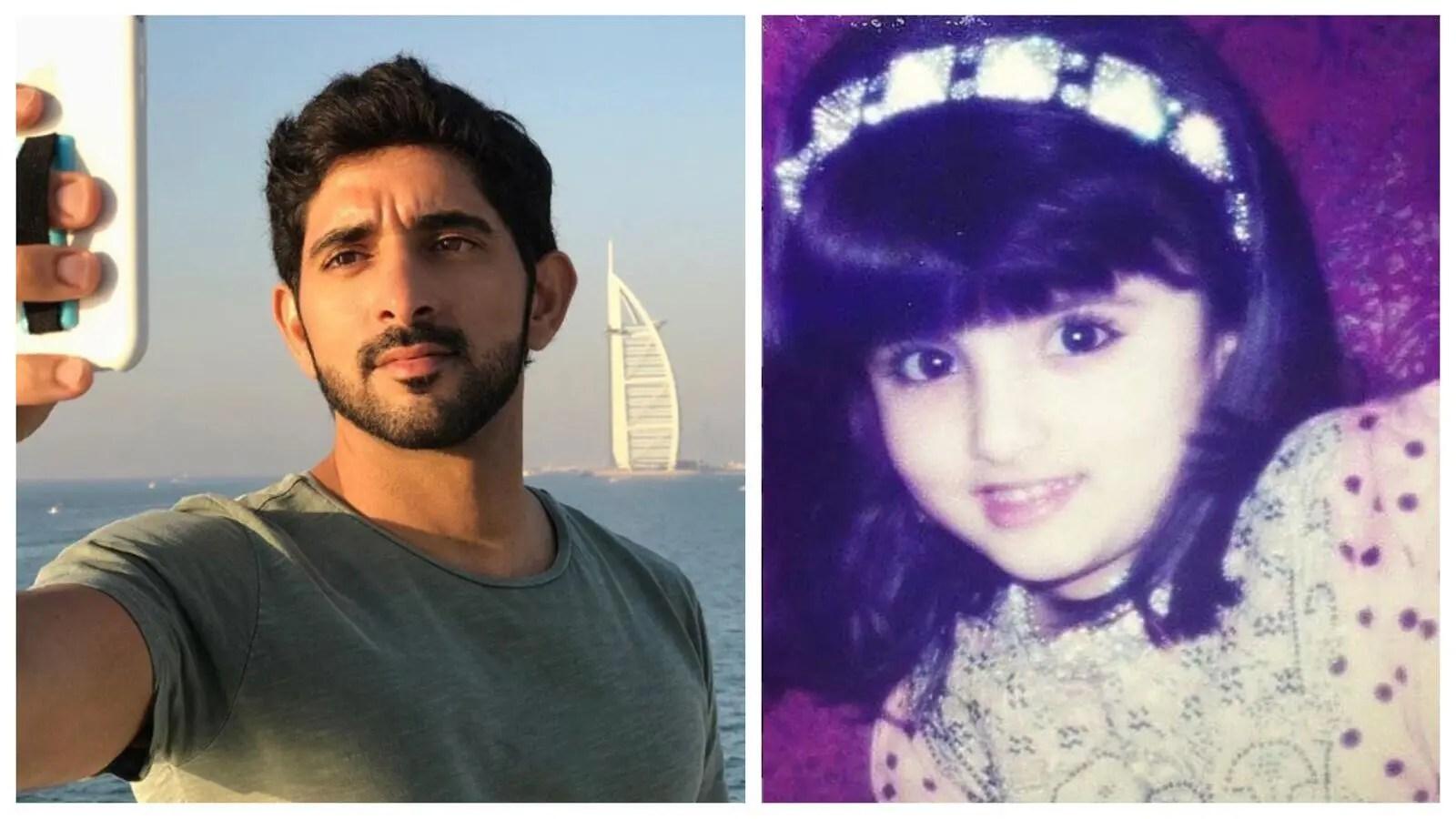 شيخة دبي المستقبلية صور زوجة الشيخ حمدان في الطفولة تجتاح