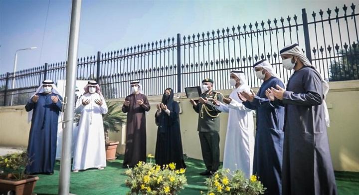 سفارة الإمارات بالقاهرة تحيي يوم الشهيد