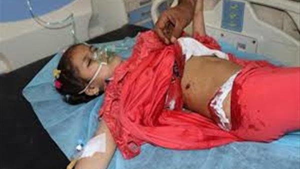 مقتل طفلة اثر القصف