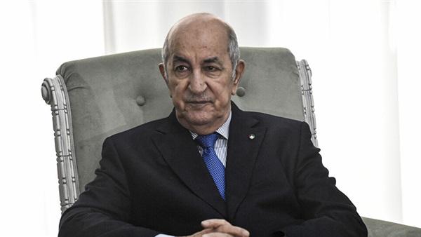 الرئيس الجزائري عبد
