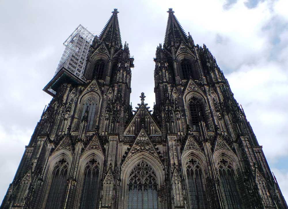نتيجة بحث الصور عن كاتدرائية كولون