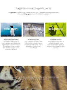 Il nuovo sito di raccolta fondi del WWF