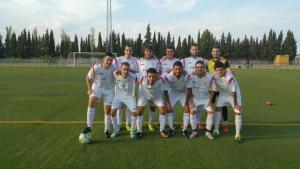 El CD Santisteban en su último partido de pretemporada
