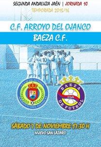 Cartel del Arroyo - Baeza | CF Arroyo