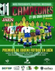 Cartel de la gala   Diario Jaén