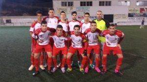Once del AD Mancha Real ante el Villargordo | Luis Verdejo