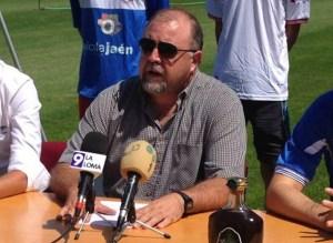 Francisco Luna, presidente del Baeza | Oleícola Jaén Olivar y Aceite