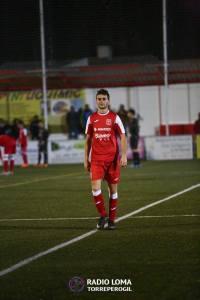 Jopi en el partido ante el Real Jaén   Radio La Loma