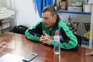 Alejandro Arce, técnico del Villanueva | Jesús Sánchez
