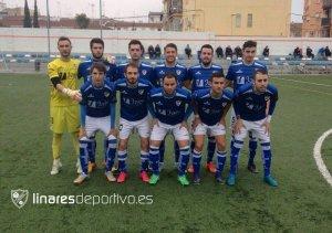 Once del Linares ante el Hispania | Linares Deportivo