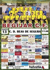 Cartel Begijar - Beas   Begíjar CF