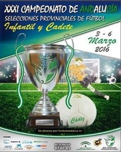 Cartel Campeonato Andalucia