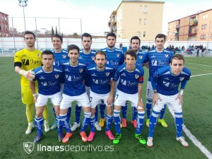 Once del Linares ante el Vilches | Linares Deportivo