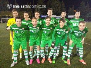 Once del Linares en Cazorla   Linares Deportivo
