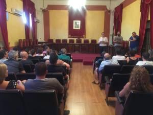Reunión mantenida en el ayuntamiento carolino   Carolinense CD