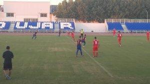 Instante del partido entre Iliturgi CF y Martos CD | @MartosCD
