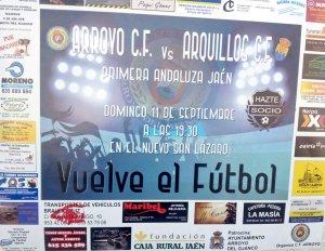Cartel anunciador | CF Arroyo