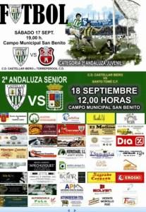Cartel del partido | CD Castellar Íbero