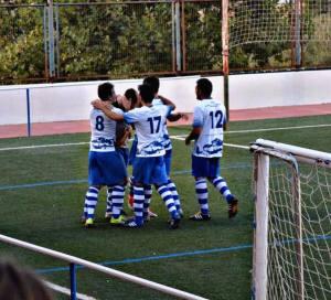 El Vilches celebra un gol en un partido anterior | Ángela Anguis