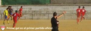 Celebración del primer gol | CD Hispania
