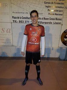 Antonio Garrido, cadete, debutó con el Urgavona | José Sabalete