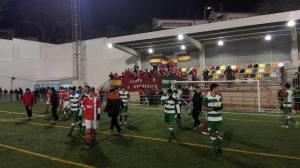 Los jugadores saludan a la afición | CD Castellar Íbero