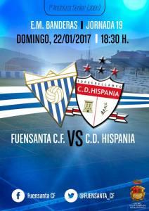 Cartel del partido   Fuensanta CF