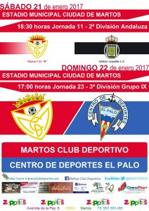 Cartel del partido | CD Martos