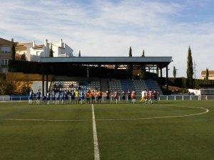 Saludo inicial en Monachil | Villacarrillo CF