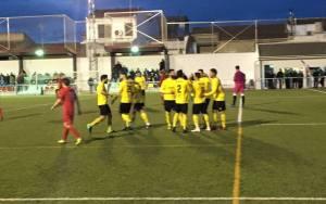 Celebración de un gol | Begíjar CF