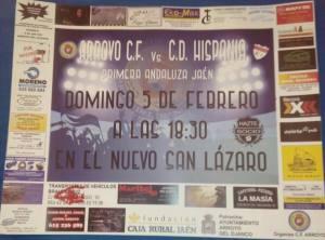 Cartel del partido | CF Arroyo