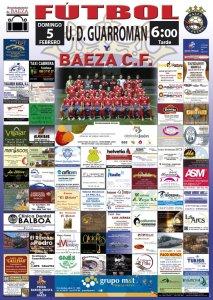 Cartel del partido | Baeza CF