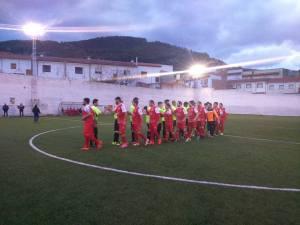 Saludo inicial en Orcera | CD Santisteban