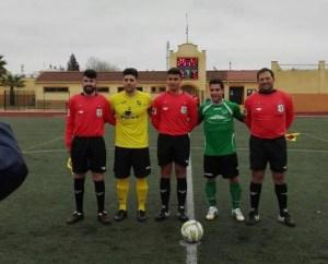 Capitanes y árbitros en Marmolejo | CD Útica