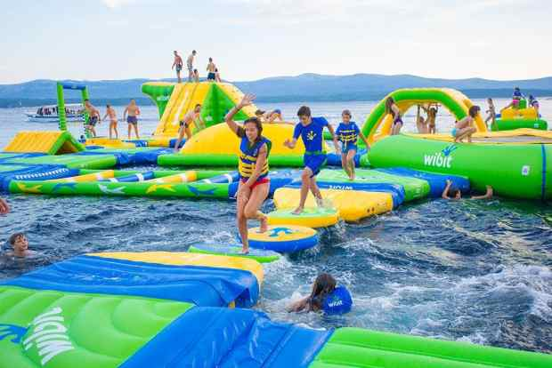 Wibit Sylvan Lake Aqua Splash Park