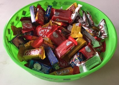 What to do with all the extra Halloween Candy