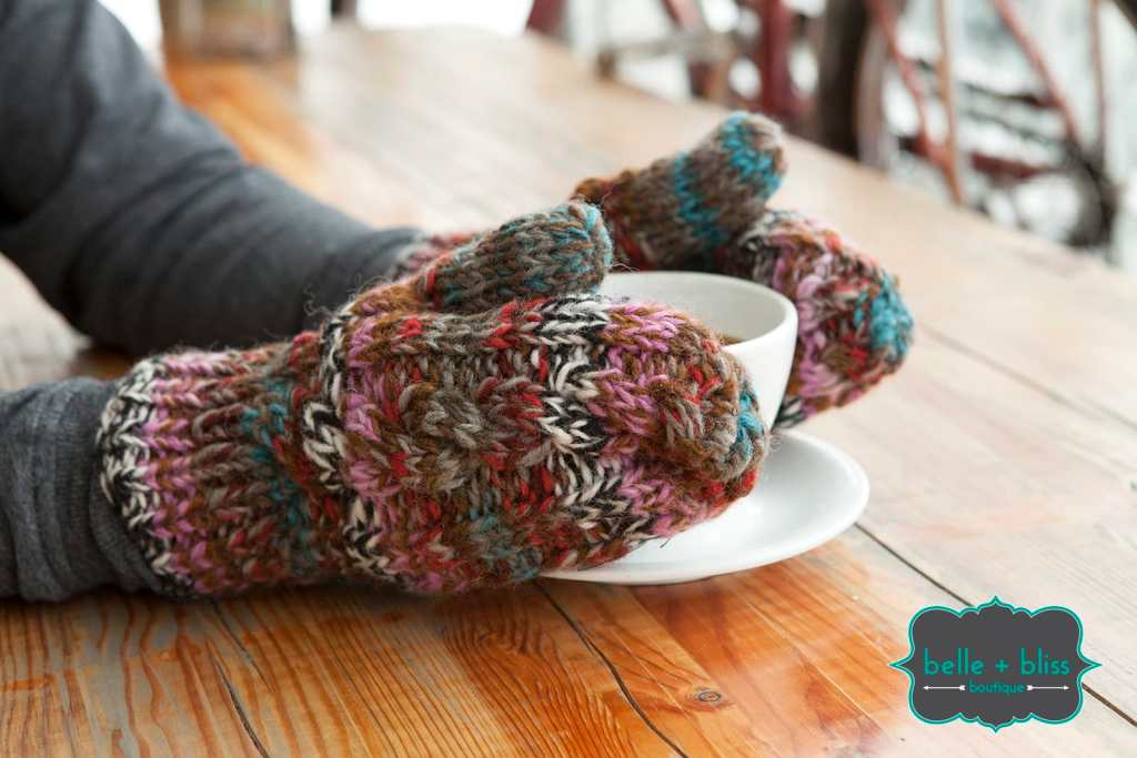 Wool Mittens from Belle & Bliss Boutique