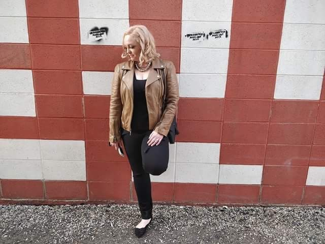 Leather Jacket for spring