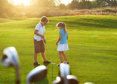 Take A Kid To The Course
