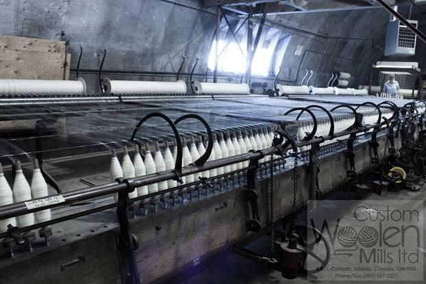 Custom Woolen Mills - Alberta Open Farm Days