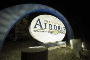 airdrie sign