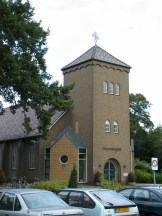 Totaalbeeld kerk Heemse